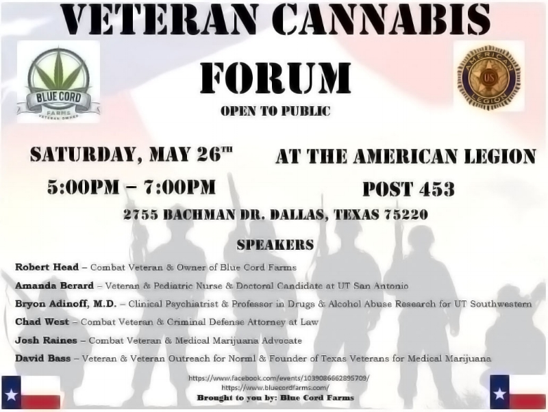 On the 26th of May, 2018. At the American Legion next to Love Field.