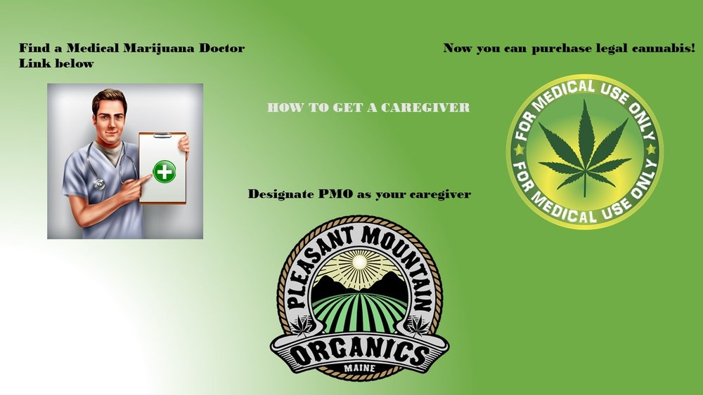 Find a doctor for you above and let Pleasant Mountain Organics be your caregiver!!