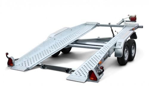 Utleie av biltilhenger - Totalvekt: 3000kgNyttelast: 2395kgInn. lengde: 400cmInn. bredde: 204cmDekk: 185 x 14