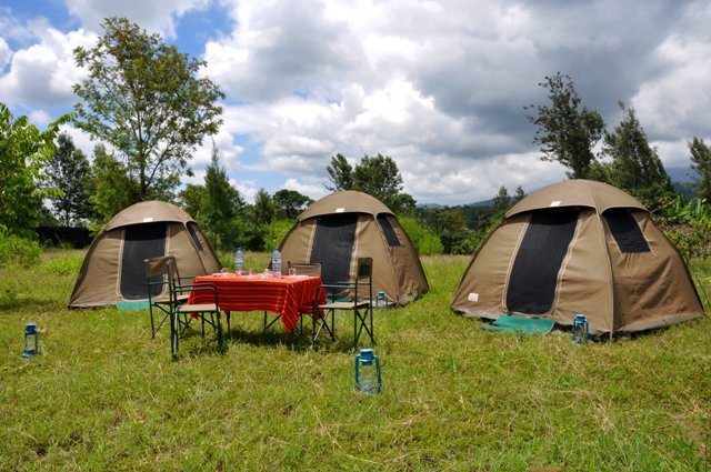 Government Campsites are included in our 5-DAY BUDGET SAFARI PACKAGE.