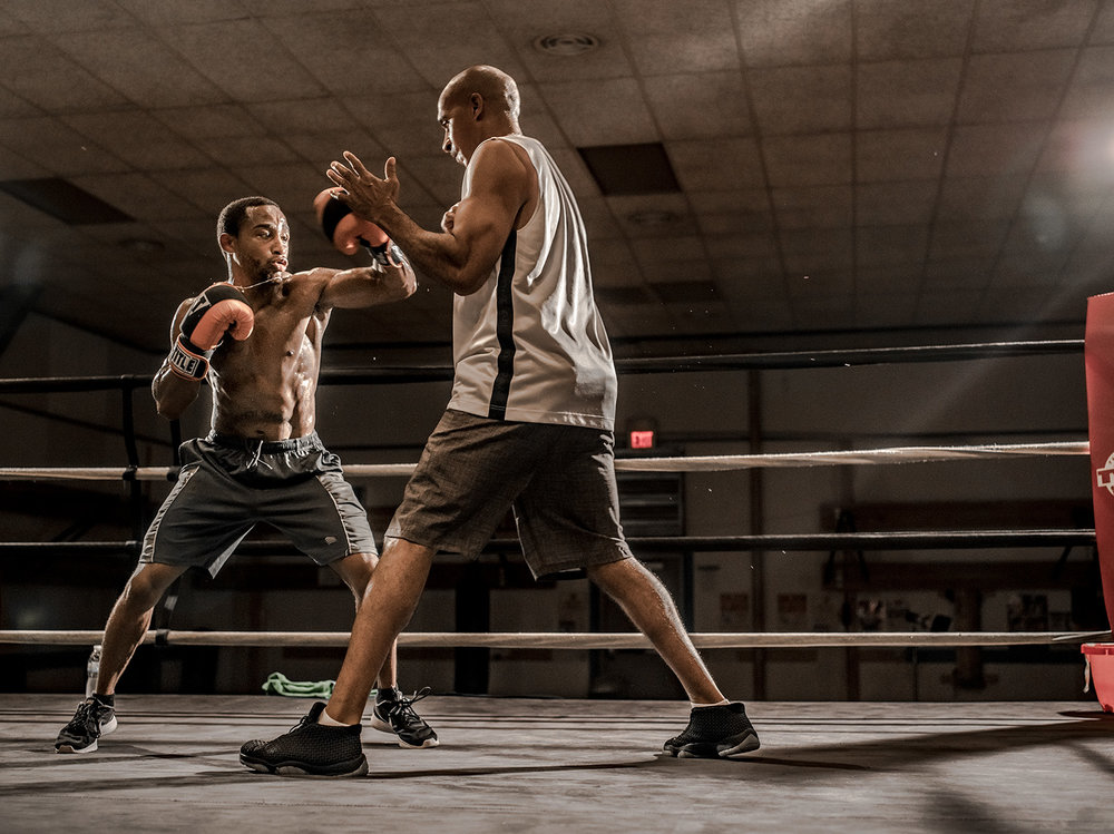 Professional boxer Vincent Jennings, Jr.