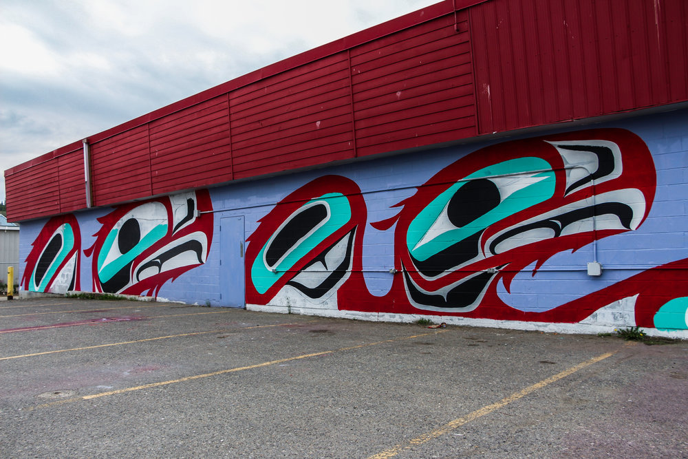 The MMIW mural will be completed by the end of July. It will feature the faces of Angel and Wendy Carlick.