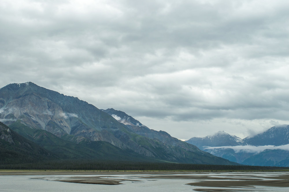 THE ŁÙ'À MǞN KLUANE LAKE EFFECT - By Sabrina Nemis