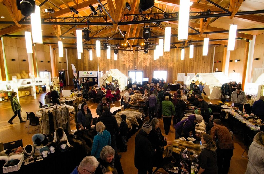 At the UnFURled event held on March 10 at the Kwanlin Dün Cultural Centre, trappers and crafters sold $65,000 worth of fur products in seven hours. Photo: Christian Kuntz