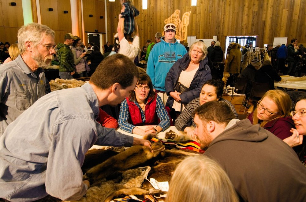 The UnFURled event hosted by Yukon Fur Real in March was meant to gauge the support of Yukoners for trapping and the fur industry in the territory. Photo: Christian Kuntz