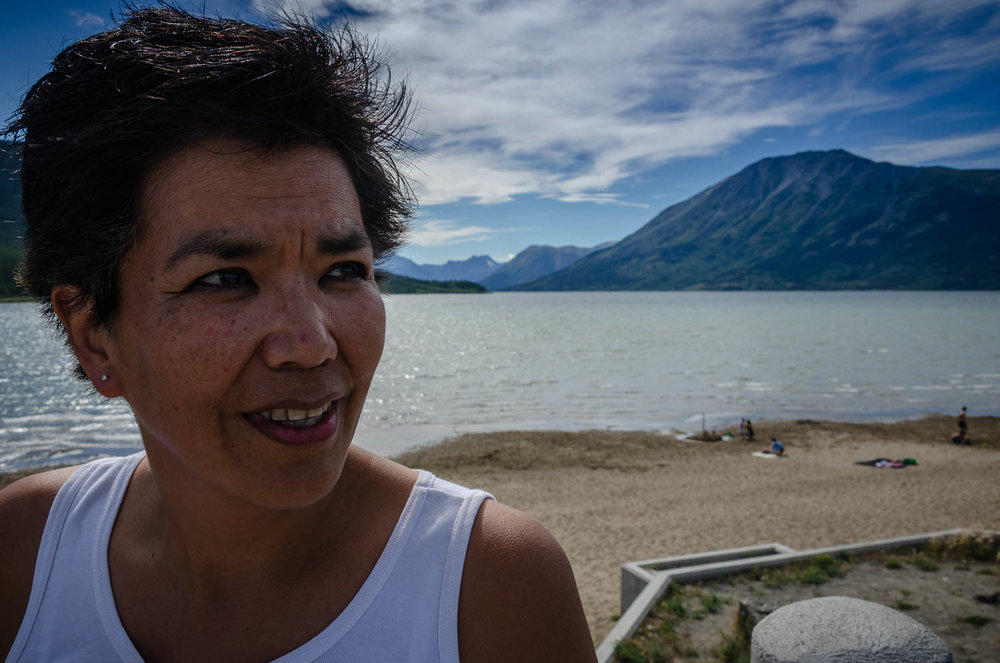 The last time Karrie Wurmann visited Carcross was in 1994, when she visited her biological family for the first time.