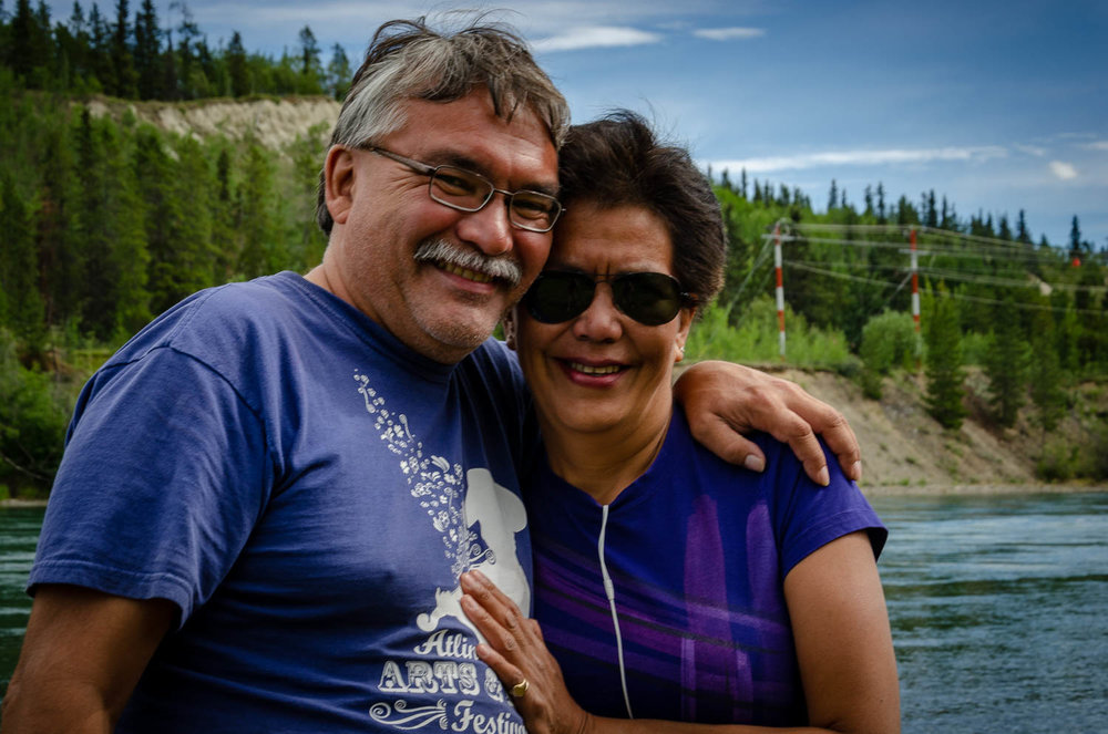 Karrie's brother Danny is a leader of the Ishkahittaan clan, which is represented by the frog emblem.Karrie and Danny have kept in touch since Karrie's visit in 1994, although most of that communication has been over social media.