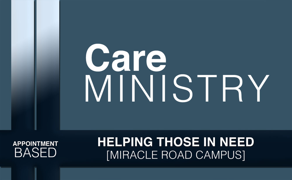 Care Ministry - At times in life, we all find ourselves looking for help. Our care ministry partners with local churches to provide resources during these times. Contact our church office for more information: 931-528-3660