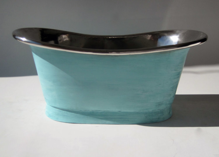 Copper Bateau Petite | Copper Tubs | The Bath Works