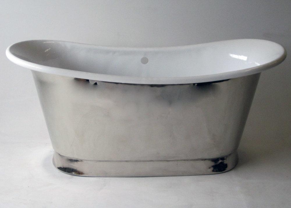 Enamel And Nickel Tub