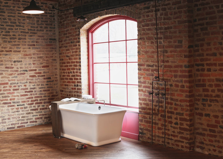 Roman Petite | Solid Surface Tubs | The Bath Works