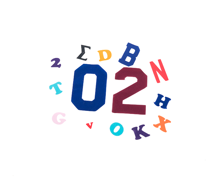 lettering and numbers