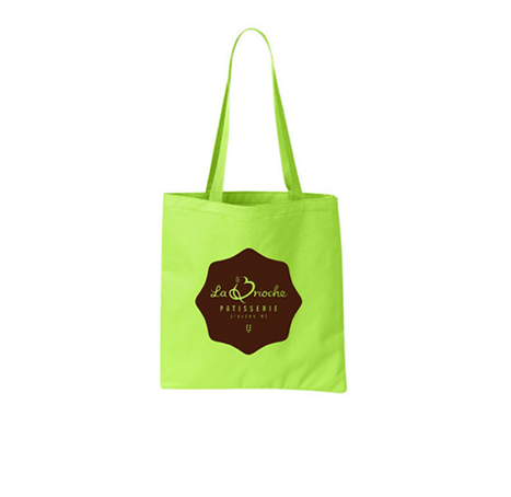 colored tote bag