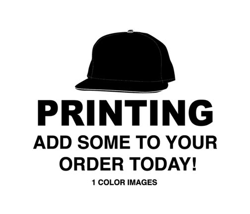 We offer a variety of Mega Cap Brand 5 panel hats to print on. Choose from  a traditional trucker hat to a pro style hats to a low profile hat. c4840b6344e