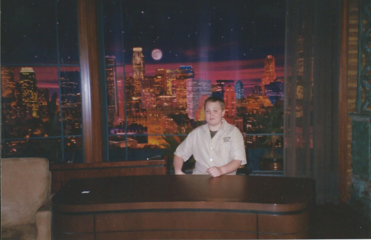 Jay's desk.
