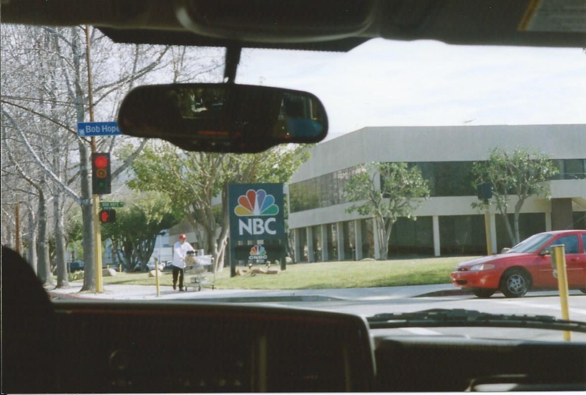The famous NBC studios on Alameda Avenue.