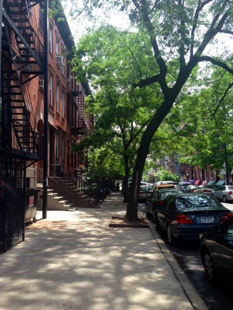 Walking around the East Village.