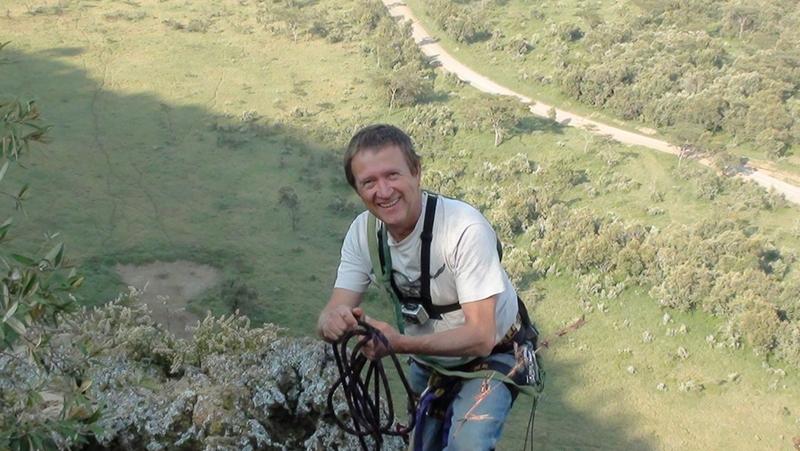 Raptor Biologist Simon Thomsett