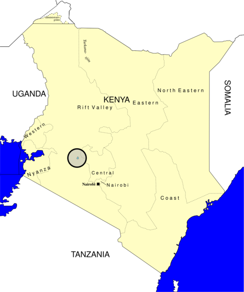 Lake Nakuru map