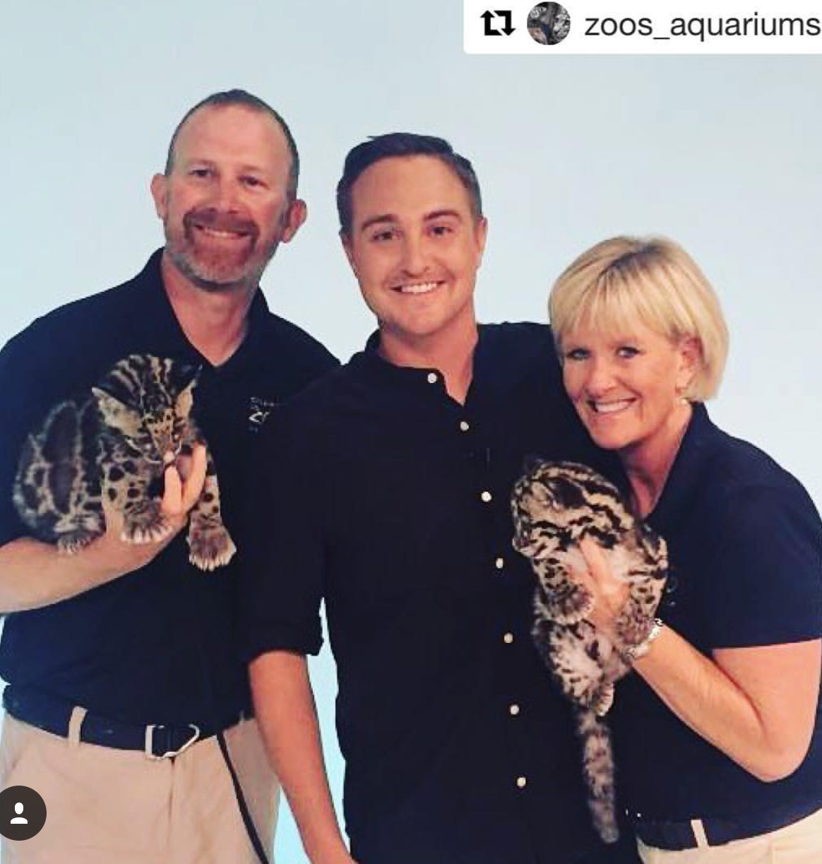 Brian and Suzy from The Columbus Zoo.