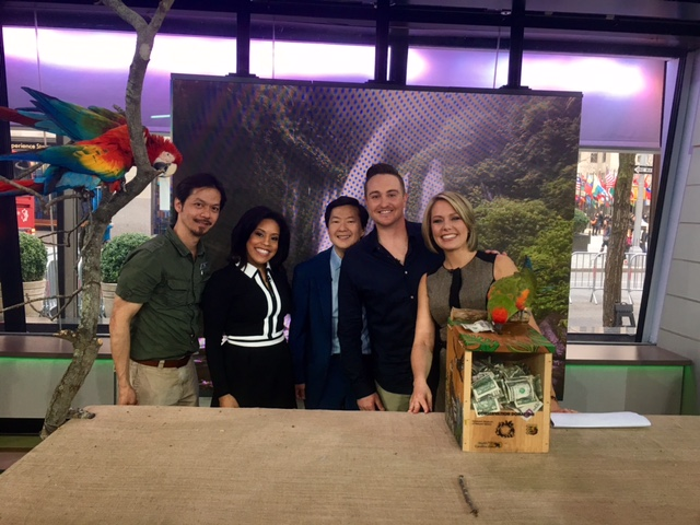 Special thanks to the entire Today Show team, Animal Behavior and Conservation Connections, and The Adventure Aquarium!