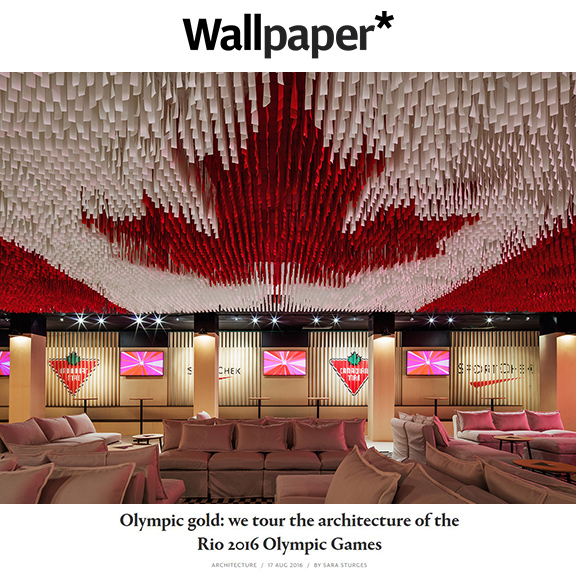 Wallpaper.com - August 2016Olympic Gold: we tour the architecture of the Rio 2016 Olympic Games
