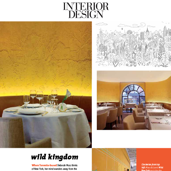 Interior Design - March 2014Wild Kingdom