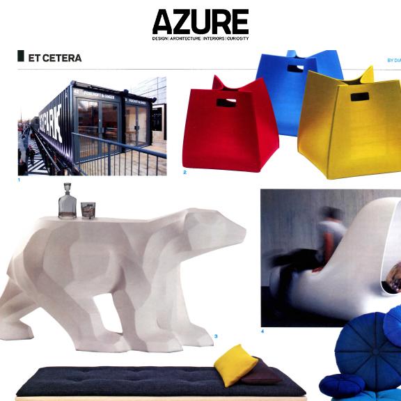 Azure Magazine - May 2012Walking Bears