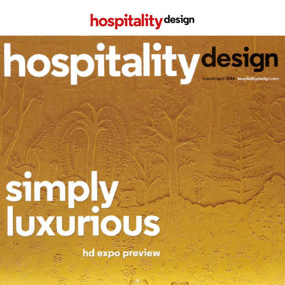 Hospitality Design - March/April 2014Clement Restaurant & Bar