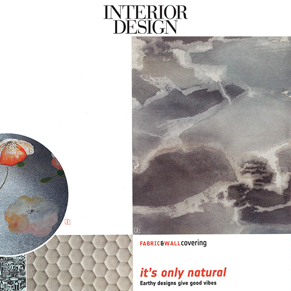 Interior Design - May 2018Fabric & Wallcovering / Seating