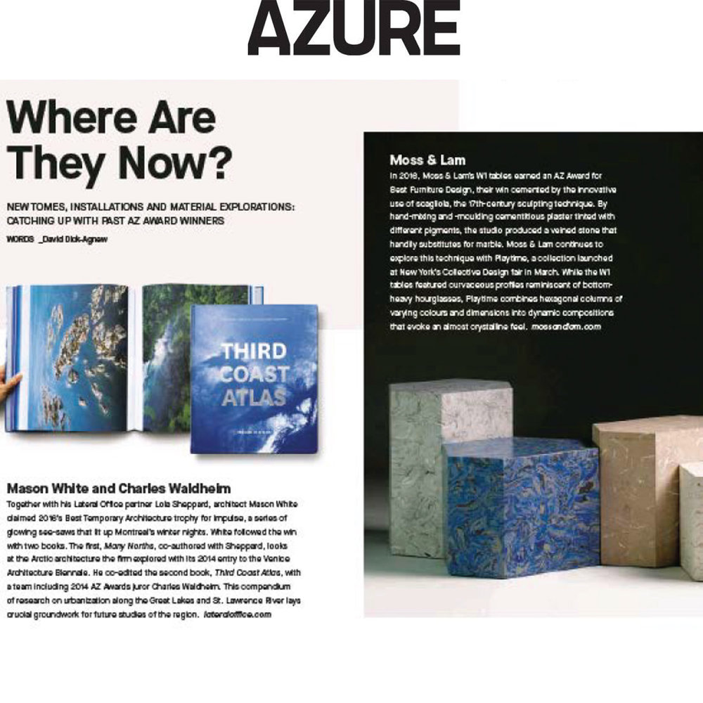 Azure Magazine - June 2018Where are they now?