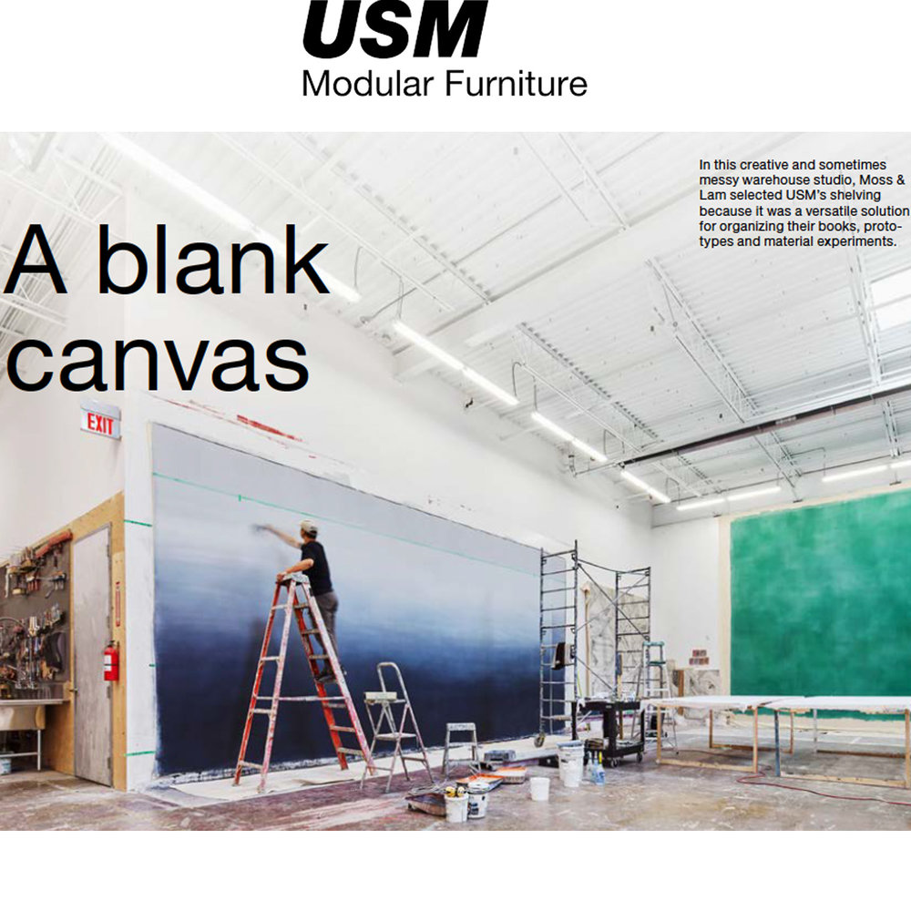 USM - Make It Yours - July 2018A blank canvas