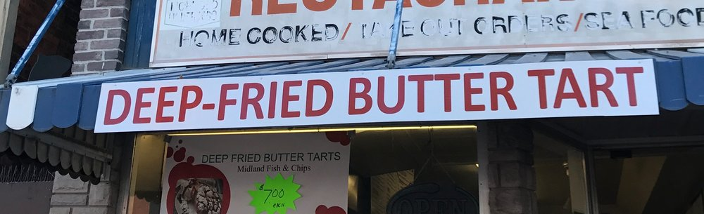 Deep-fried Butter Tarts
