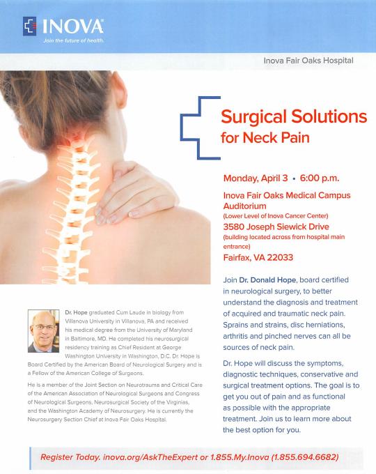 INOVA Spine Surgery