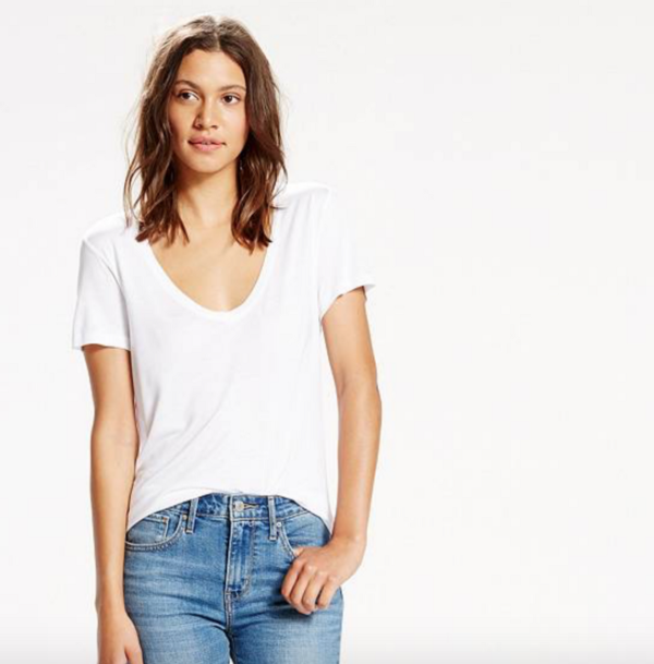 Levi's The Perfect V via Spring