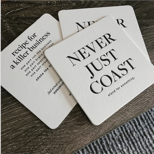 Coaster design + photo by The Union Stationer ( www.unionstationer.com )