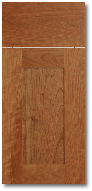 Kihei - Cherry with Clear varnish wood door & Wood Doors \u2014 Total Building Products LLC