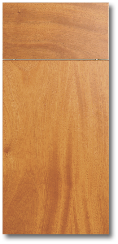 Manoa - African mahogany flat sliced veneer door & Wood Veneer Doors \u2014 Total Building Products LLC