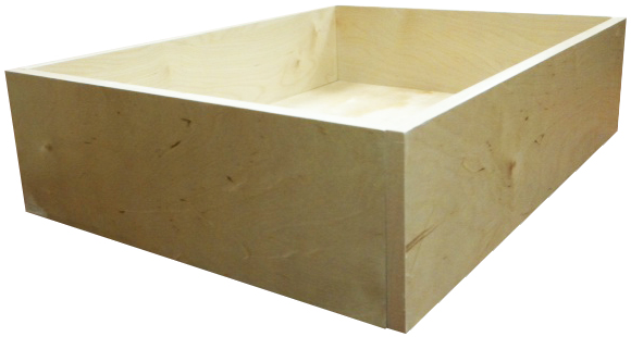 Birch Plywood Drawer Box