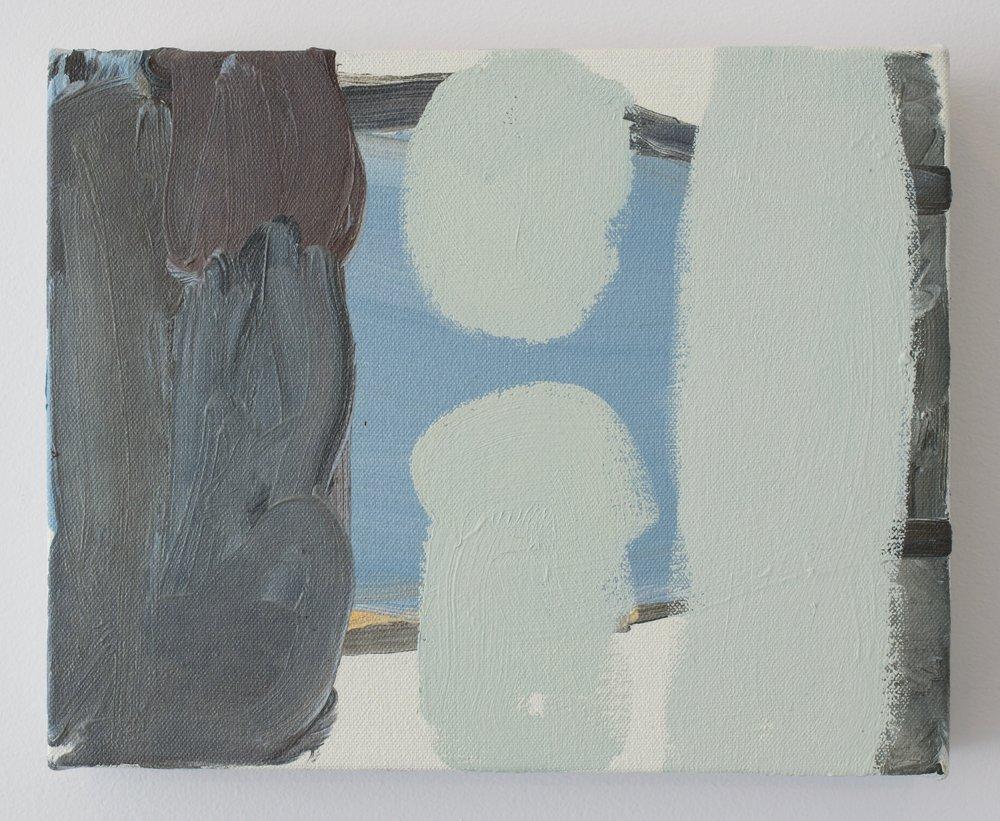 Virva Hinnemo, Un-Mountain, 2015. Oil on Canvas, 8 x 10 inches.
