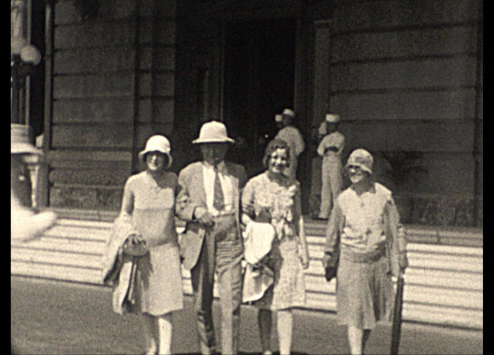 Margaret, Cecil, Helen & Edna Walker