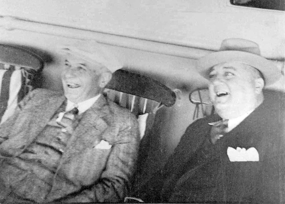 Wynn Meridith & Fred Suhr