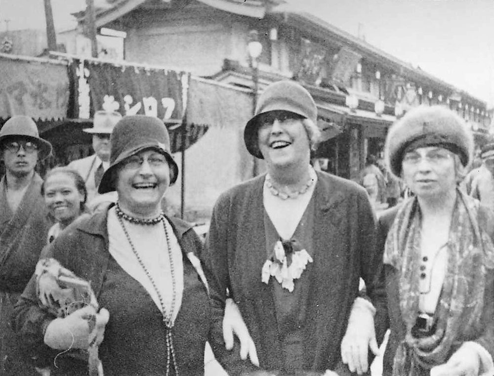 Essie Williamson, Ethel Suhr, Ida Ramsey