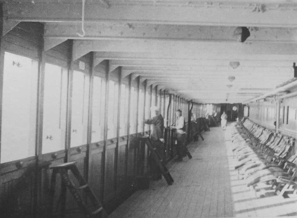 The Malolo's Promenade Deck