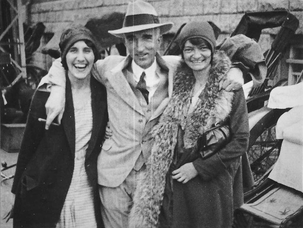 J. Tabor, Dr. Stanley, Olga Dittig