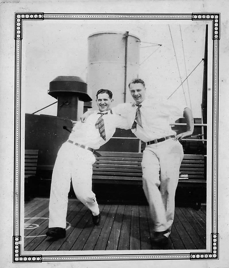 Russ Davison and Jack Blanchard