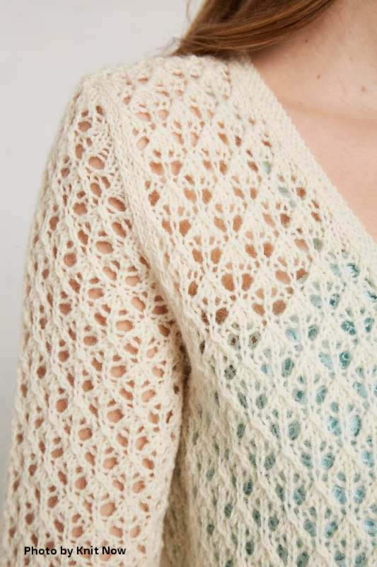 Magnolia Cardigan - Knit NowIssue 88by Kirsten Joel