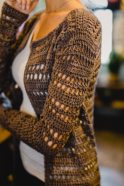 Medallion Cardigan