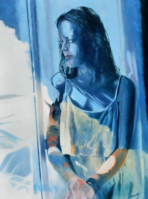 Blue Note by Margaret Bayalis