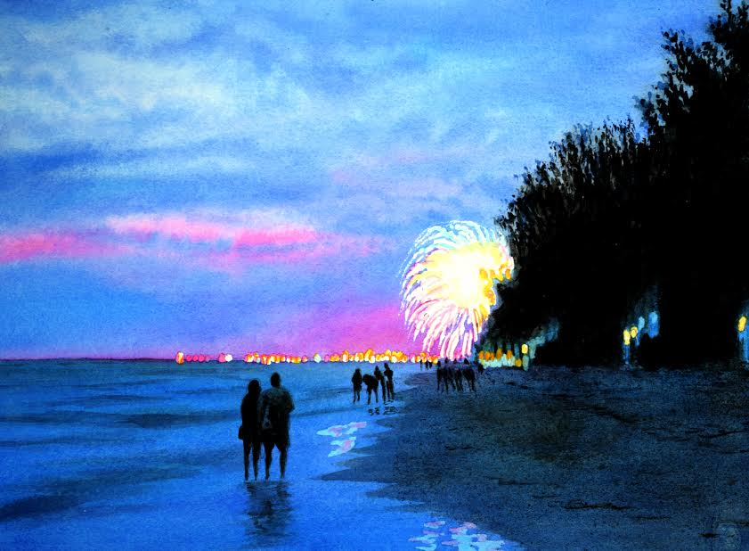 Fireworks by John Bayalis